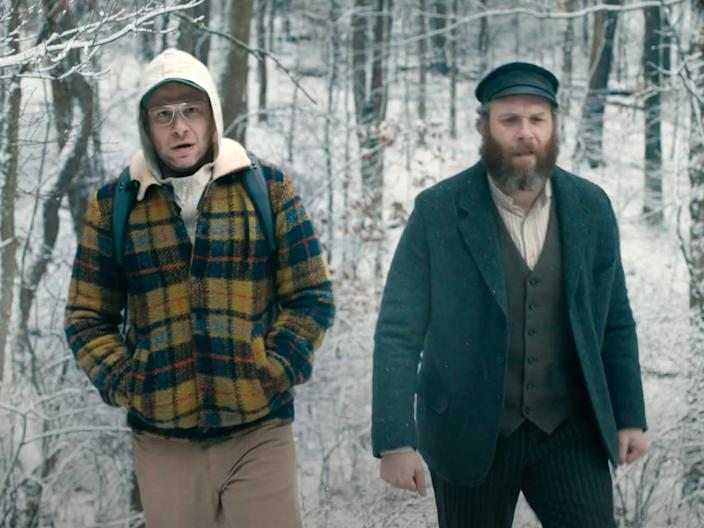 "<br>Seth Rogen and Seth Rogen in ""An American Pickle."""