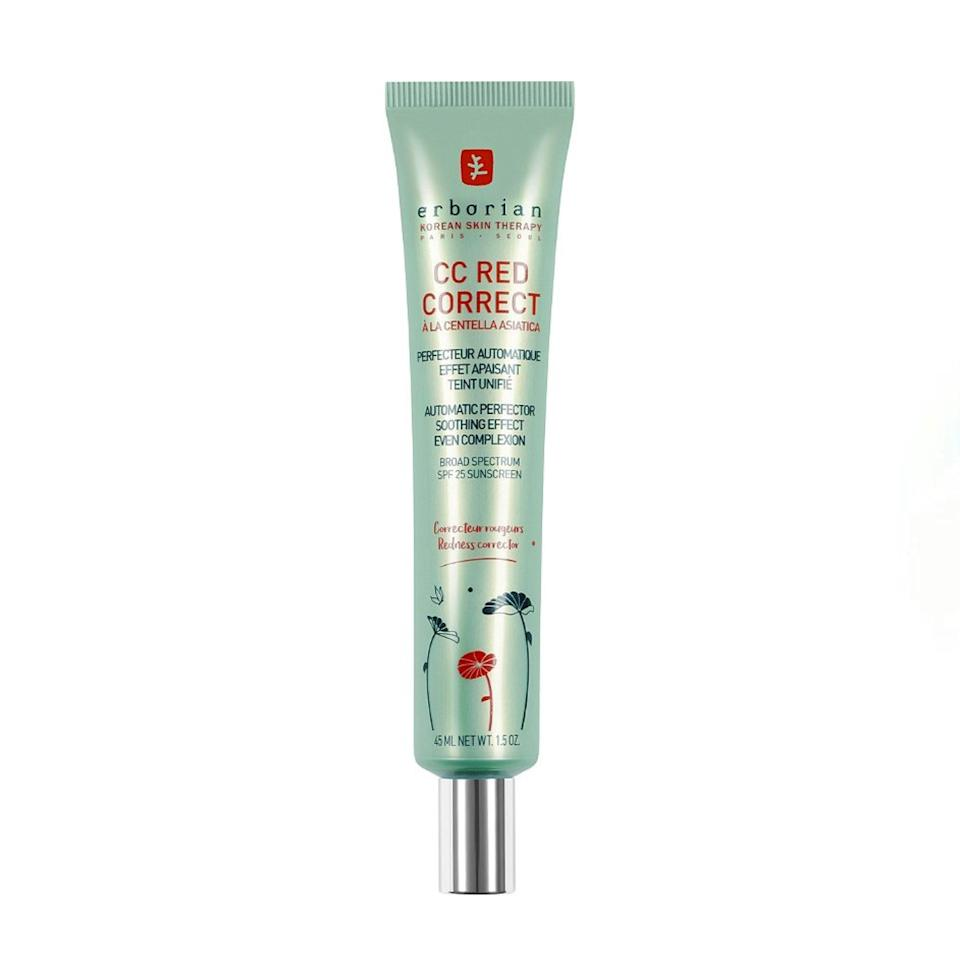 """On hot summer days when I don't want to wear foundation, this CC cream with SPF is all I need. It evens out my red complexion and doesn't irritate my sensitive skin one bit. I've stocked up out of fear of not having it on hand. It's that good. —<em>Kat Thomas, assistant fashion editor</em> $44, Ulta. <a href=""""https://www.ulta.com/cc-red-correct?productId=pimprod2005691"""" rel=""""nofollow noopener"""" target=""""_blank"""" data-ylk=""""slk:Get it now!"""" class=""""link rapid-noclick-resp"""">Get it now!</a>"""