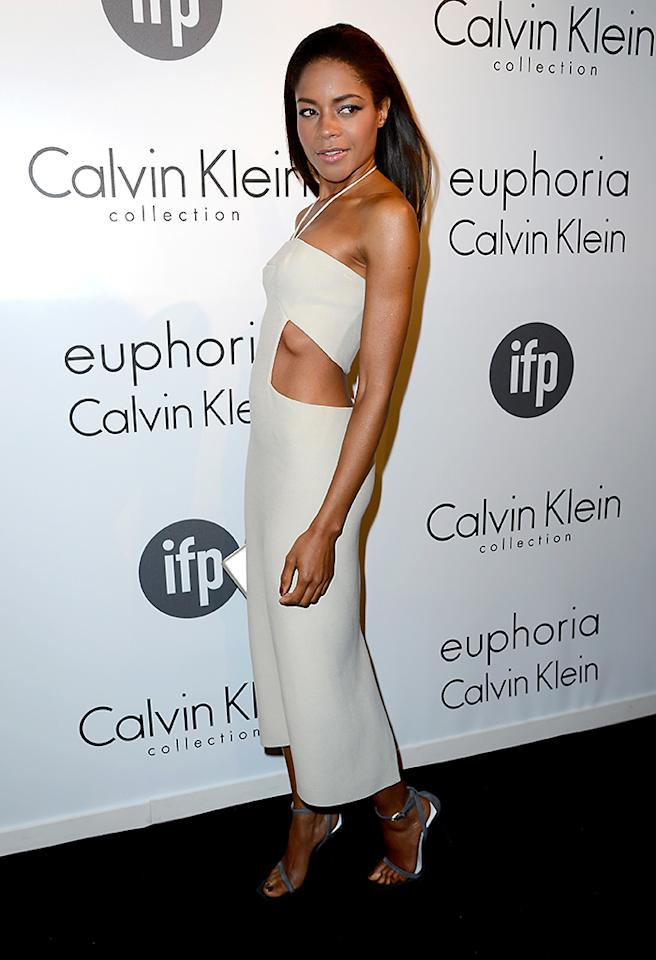CANNES, FRANCE - MAY 16:  Actress Naomie Harris attends the The IFP, Calvin Klein Collection & Euphoria Calvin Klein Celebrate Women In Film At The 66th Cannes Film Festival on May 16, 2013 in Cannes, France.  (Photo by Pascal Le Segretain/Getty Images for Calvin Klein)