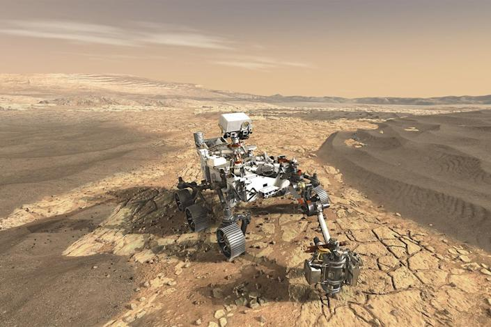"NASA said on Monday that the landing site for its much-anticipated Mars 2020 rover mission has the potential to ""revolutionize how we think about Mars and its ability to harbor life."""