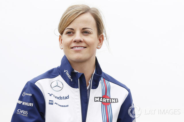 "Susie Wolff, Williams piloto de desarrollo <span class=""copyright"">Alastair Staley / Motorsport Images</span>"