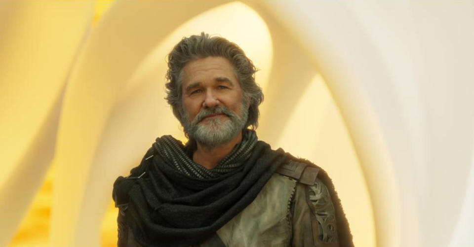 <p>Peter's father (and father figure to Mantis), Ego is a cosmic being who can take on different forms. In the comics, he can manifest as a real planet. (Photo: Marvel) </p>