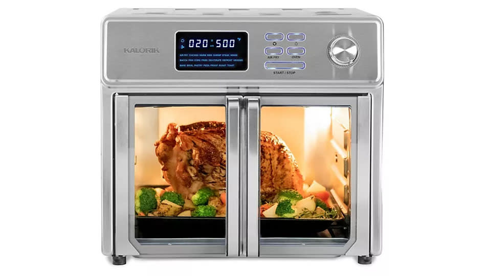This Kalorik air fryer/toaster oven combo will make your life exponentially easier, I promise. (Photo: Kohl's)