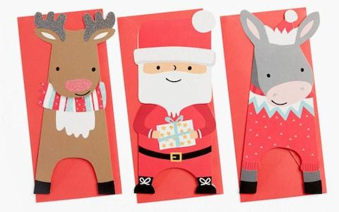 John Lewis & Partners Santa and Friends Charity Christmas Cards Pack of 24 - Credit: John Lewis & Partners