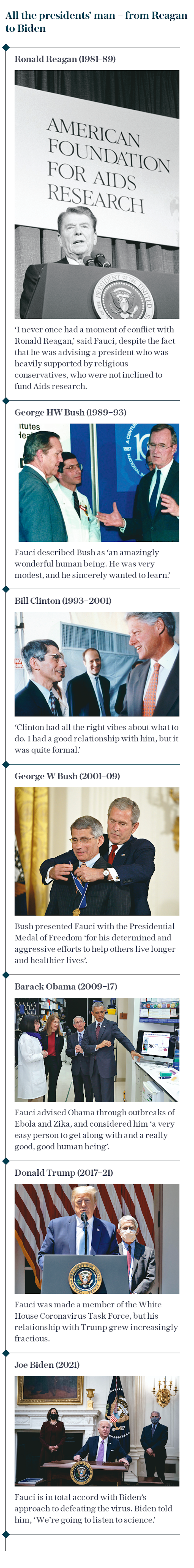 All the presidents' man – from Reagan to Biden