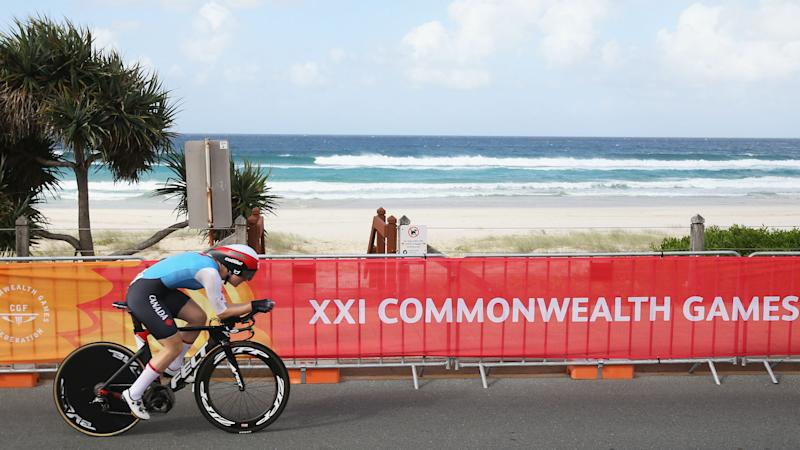 Low blow - English cyclist ticked off by Commonwealth admin error