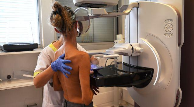 A woman getting a mammogram. Source: Getty Images / Stock image