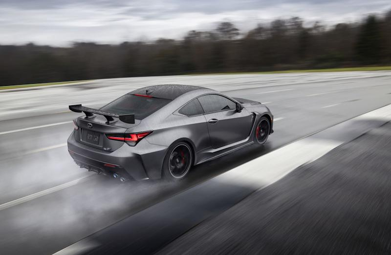 Lexus RC F Track Edition revealed in Detroit