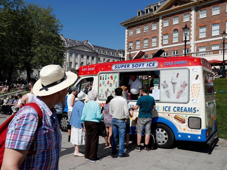 Ice cream vans banned by London councils over environmental concerns