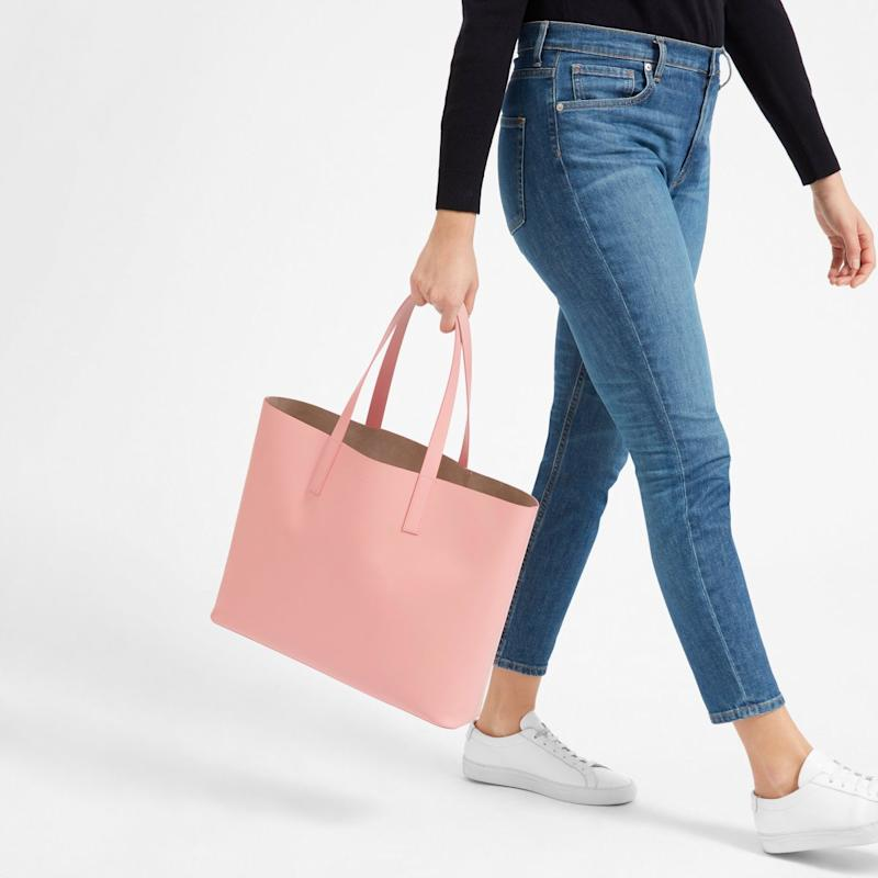 The Day Tote in rose