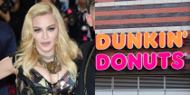 """<p>Back in her early NYC days, Madonna worked at a Times Square outpost of Dunkin Donuts. She was <a href=""""https://www.usmagazine.com/celebrity-news/pictures/stars-fired-from-jobs-2012102/20662/"""" rel=""""nofollow noopener"""" target=""""_blank"""" data-ylk=""""slk:reportedly fired"""" class=""""link rapid-noclick-resp"""">reportedly fired</a> for squirting jelly on a customer. What's the prob tho?</p>"""