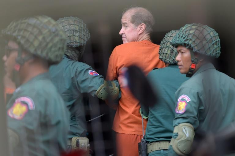 James Ricketson was arrested by Cambodian authorities in June last year and later charged with espionage
