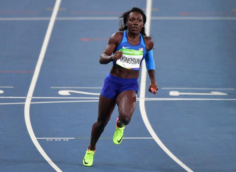 Taking a first US Indoor 60m crown was Rio 4x400 US gold medal relay member Morolake Akinosun (pictured), who ran 7.08 to edge Dezerea Bryant by .03 for the women's win, in Albuquerque, New Mexico, on March 5, 2017