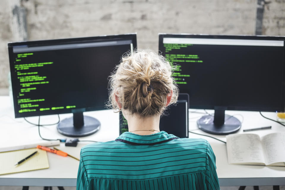 There are so many opportunities in the field of coding. Want to learn? This course in Python is the perfect place to start. (Photo: Getty)