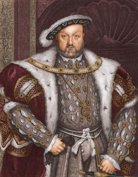 """<p>Henry VIII was still married to his first wife, Catherine of Aragon, when he fell for Anne Boleyn. As a Catholic, the king wasn't allowed to divorce. His solution? To become <a href=""""https://www.history.com/news/henry-viii-divorce-reformation-catholic-church"""" rel=""""nofollow noopener"""" target=""""_blank"""" data-ylk=""""slk:Supreme Head of the Church of England"""" class=""""link rapid-noclick-resp"""">Supreme Head of the Church of England</a>, dissolve the country's monasteries, and marry his mistress who was already pregnant with his child. Basically, his desire to divorce and remarry led to major religious reform in England.</p>"""