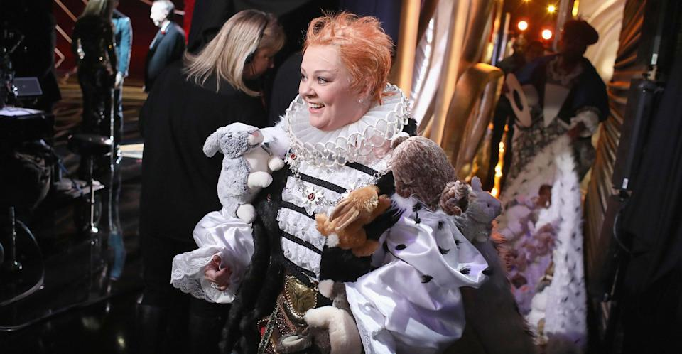 Melissa McCarthy paid tribute to Olivia Colman's multi-award winning 'The Favourite' (Getty Images)