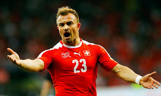 Stoke's Xherdan Shaqiri, at least for now.