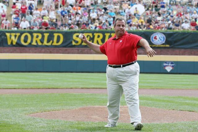 Chris Christie might be the next, great hot take artist. (Getty Images/Rob Carr)