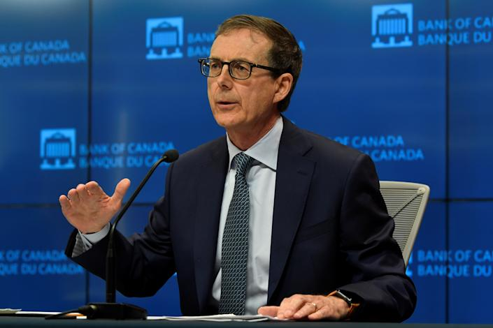 Bank of Canada Governor Tiff Macklem holds a news conference at the Bank of Canada in Ottawa, Canada, July 15, 2020. Adrian Wyld/Pool via REUTERS
