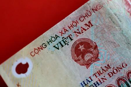 Illustration photo of a Vietnam Dong note