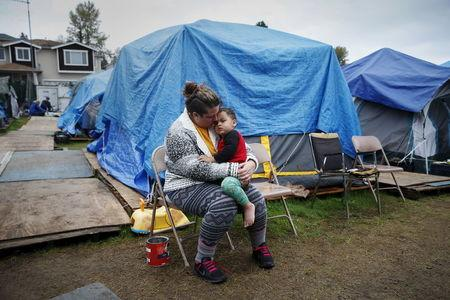 The Wider Image: Homeless in America's tent cities