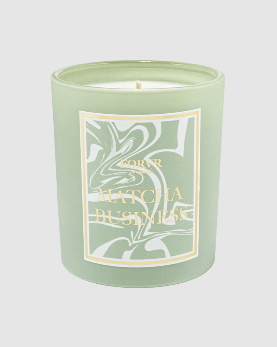 """<p><strong>Forvr Mood</strong></p><p>forvrmood.com</p><p><strong>$35.00</strong></p><p><a href=""""https://forvrmood.com/collections/candles/products/matcha-business"""" rel=""""nofollow noopener"""" target=""""_blank"""" data-ylk=""""slk:Shop Now"""" class=""""link rapid-noclick-resp"""">Shop Now</a></p><p>If you're a fan of Jackie Aina (content creator, beauty expert, and US Army veteran), you're gonna love her lifestyle brand Forvr Mood and especially her candle Matcha Business. It has a strong coffee scent with notes of lavender, honey, and vanilla.</p>"""