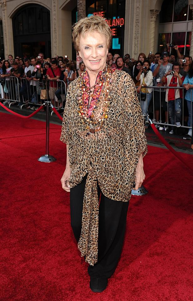 """<a href=""""http://movies.yahoo.com/movie/contributor/1800023580"""">Cloris Leachman</a> attends the Los Angeles premiere of <a href=""""http://movies.yahoo.com/movie/1810111331/info"""">You Again</a> on September 22, 2010."""