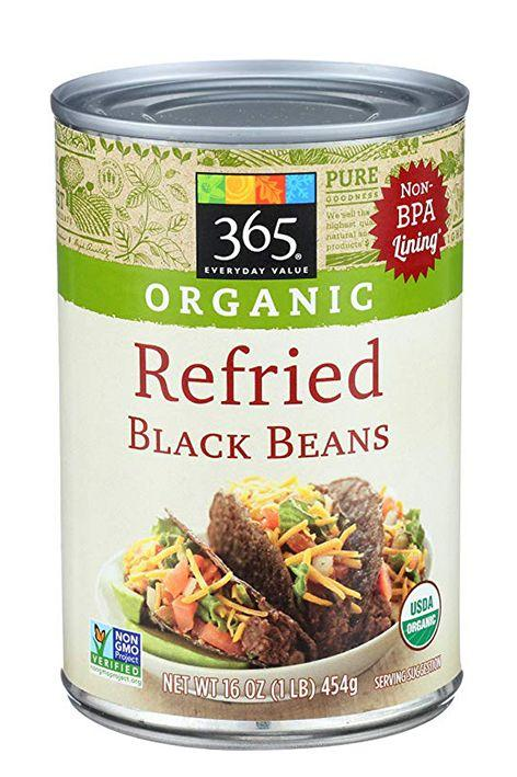 "<p>Looking to add some more fiber and protein to your diet? This can of refried beans has 6 grams of each! Not a bad way to step up <a href=""https://www.goodhousekeeping.com/food-recipes/g3463/cinco-de-mayo-taco-recipes/"" target=""_blank"">your taco recipe</a>.  </p>"