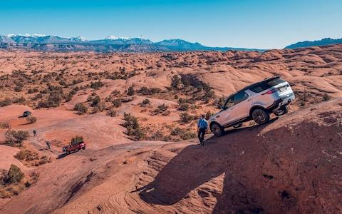Land Rover Experience in Moab, Utah