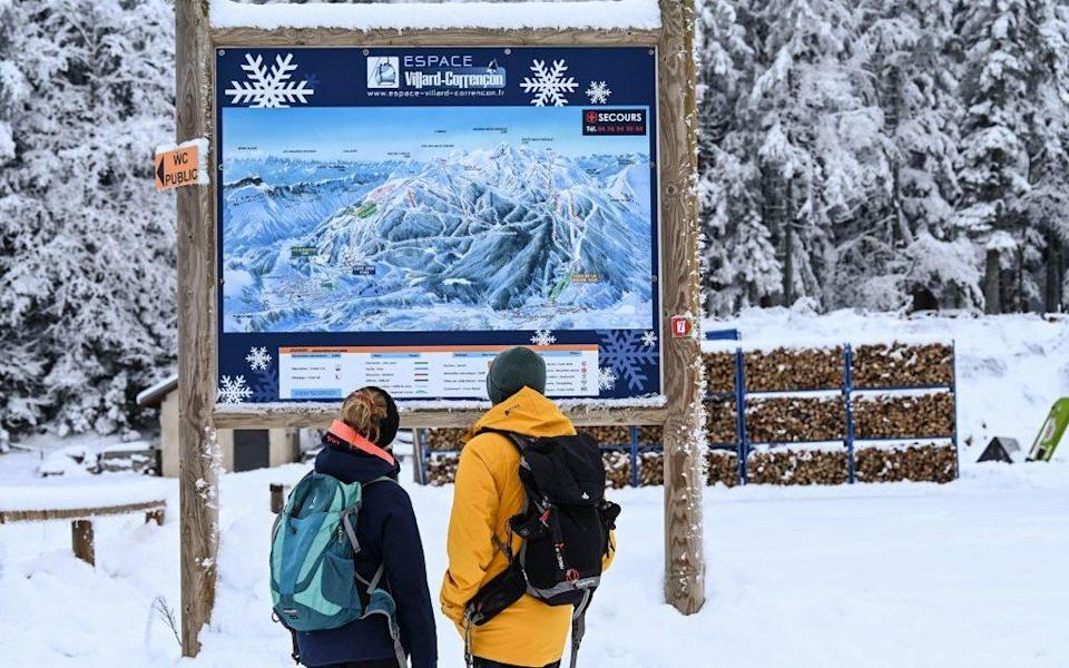 The reopening of ski lifts has been postponed - Getty