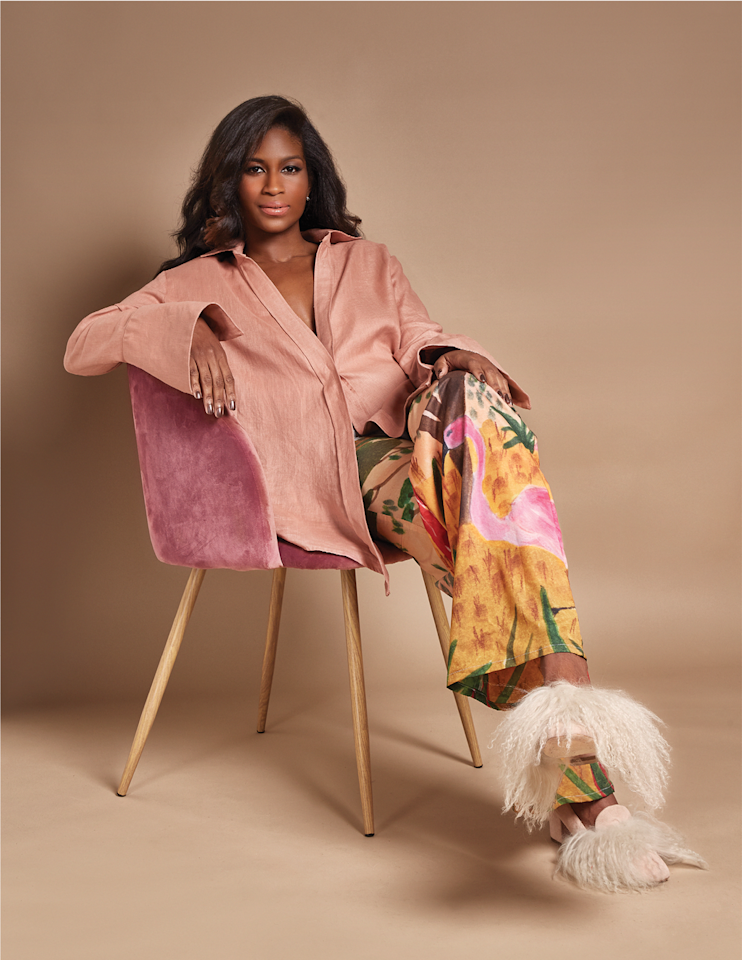 """<p>As a teen, <a href=""""https://fenoel.com/"""" target=""""_blank"""">Felisha Noel</a> opened her first boutique in Brooklyn; today, she designs clothes for Bloomingdales and Beyoncé. With roots in the Caribbean island of Grenada, this New York designer brings her cocktail of prints to her power dresses to NYFW. Can't wait.</p>"""