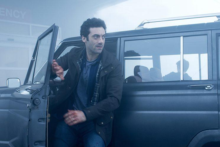 Morgan Spector as Kevin Copeland in Spike TV's The Mist. (Photo Credit: Chris Reardon/Spike TV)