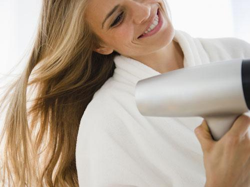 Focus on the T-Zone for a Two-Minute Blow-Dry