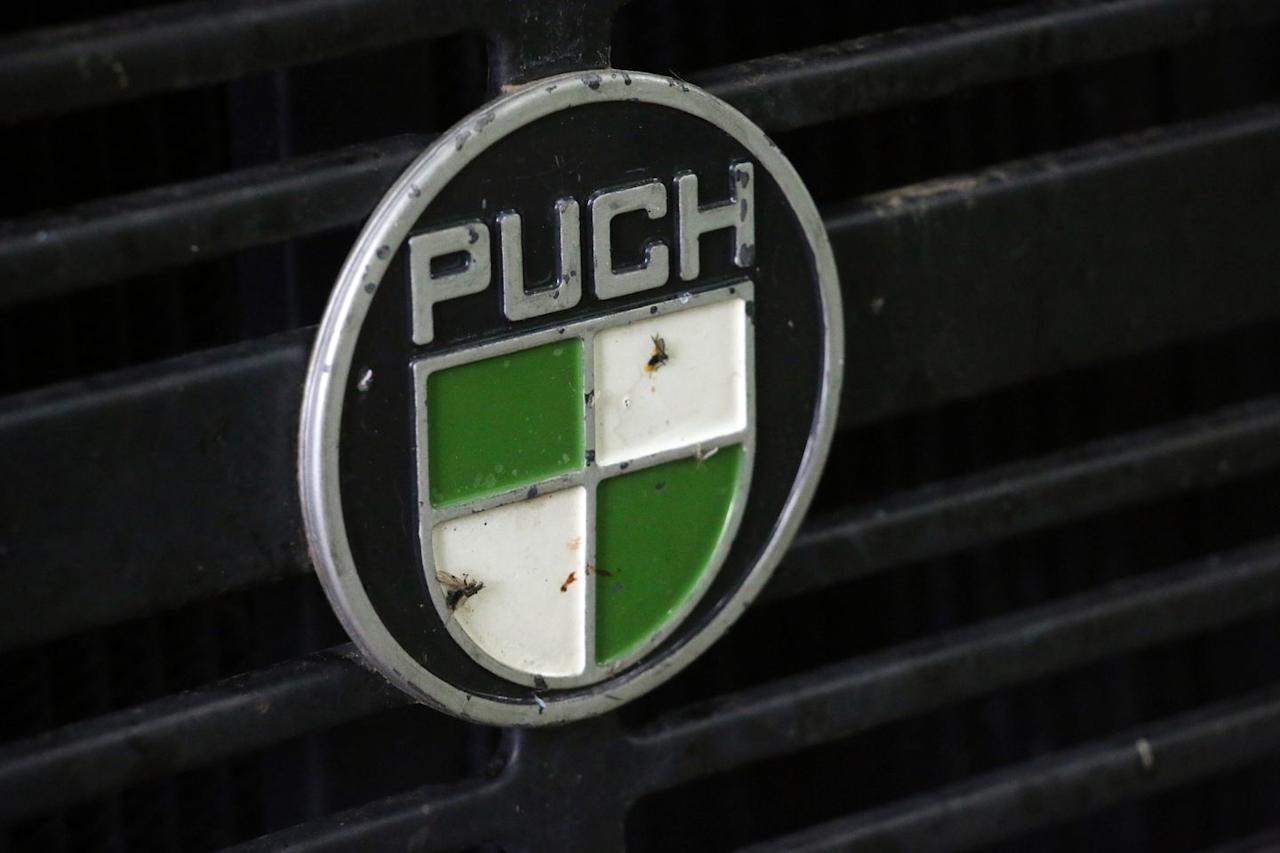<p>Puch 300GDs like this one were the preferred choice of the military, from Norway to Serbia and beyond. </p>