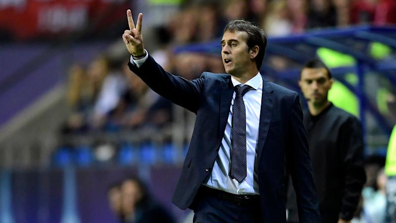 Real Madrid always score goals - Lopetegui plays down form concerns