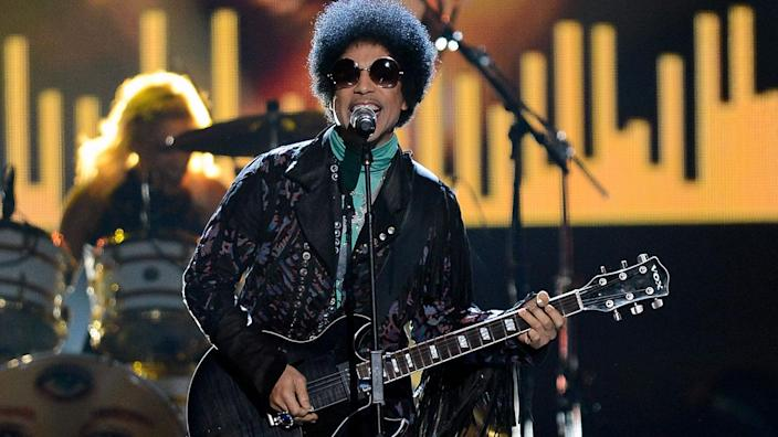 Prince died on April 21 at the age of 57 at his Paisley Park estate in Chanhassen, Minn. (File photo)