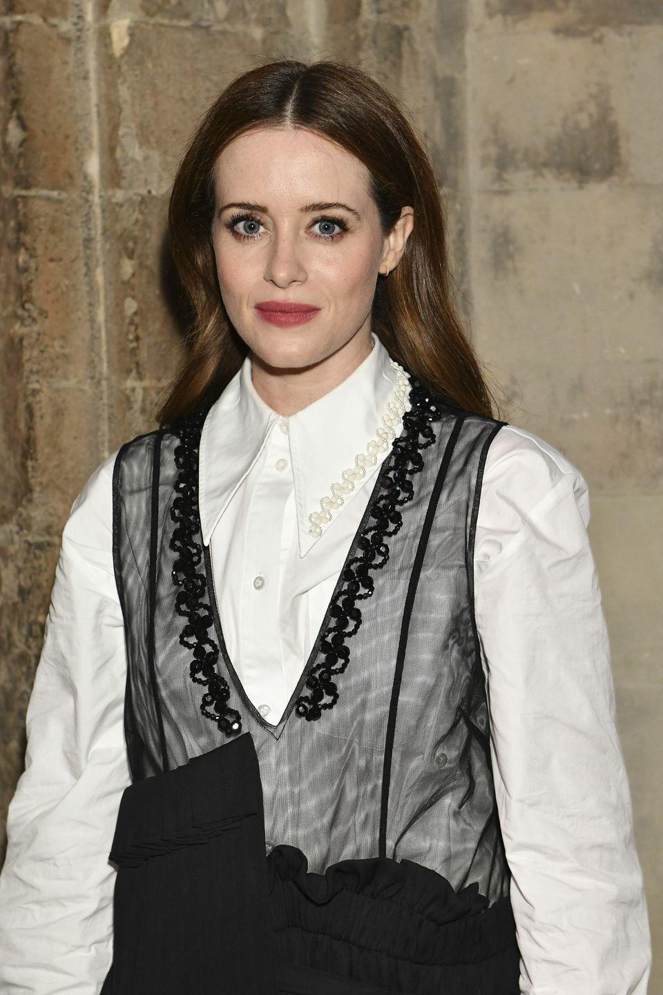 <p>If you want to mix up your brunette hair, try a deep shade of reddish-brown like Claire Foy. Chestnut hair warms up your features while still being subtle. </p>
