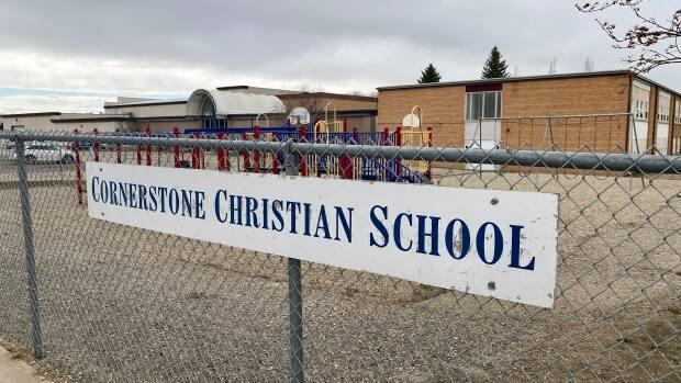 Cornerstone will be closed to in-person learning until at least April 20.  (Matt Howard/CBC - image credit)