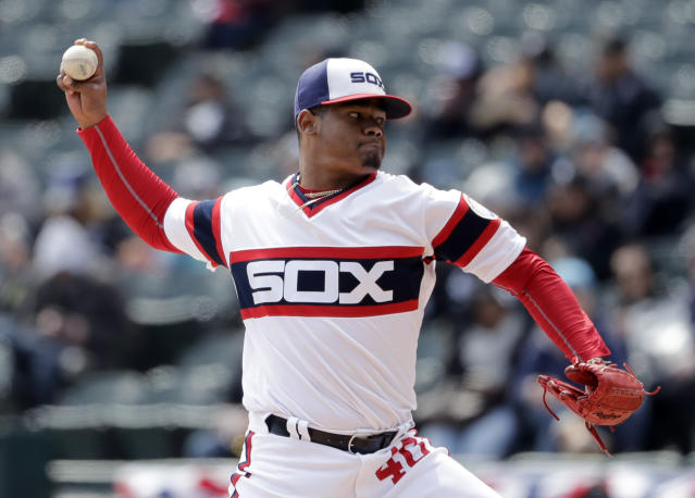 Reynaldo Lopez may have taken the next step for the White Sox. (AP Photo)