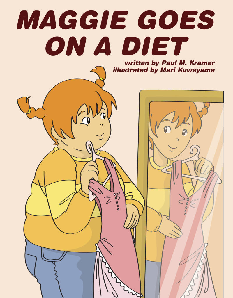 """This book cover image courtesy of Aloha Publishers shows the cover of """"Maggie Goes on a Diet,"""" by Paul M. Kramer and Mari Kuwayama. The self-published book doesn't come out until next month, but there's already online outrage over it.     (AP Photo/Aloha Publishers)"""