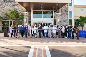 Florida Cancer Specialists physicians and staff celebrate the opening of the new FCS Estero facility in Lee County.