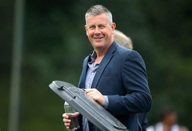 Ashley Giles is preparing for England to face West Indies (Nick Potts/PA)