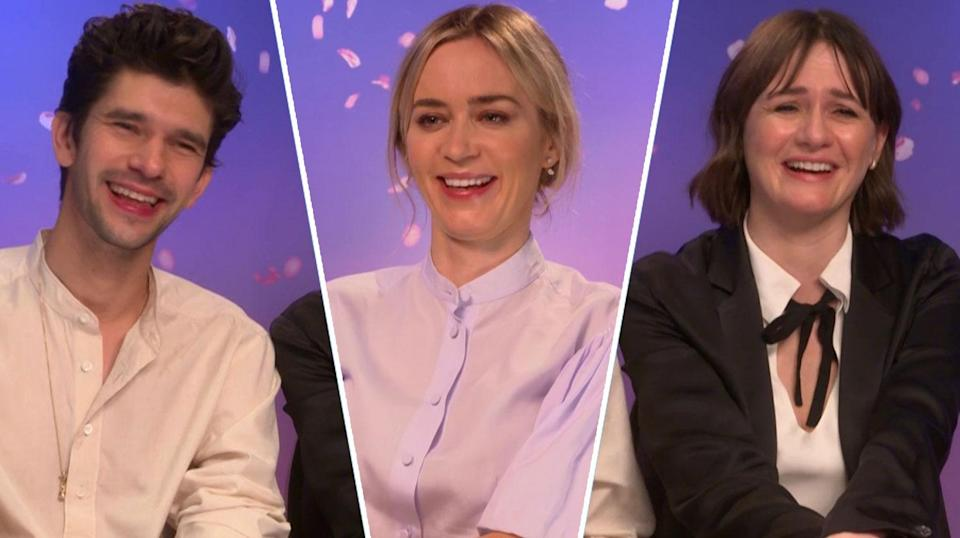Emily Blunt, Ben Whishaw, and Emily Mortimer have some interesting suggestions for where the next Mary Poppins film could go, and what it should be called.