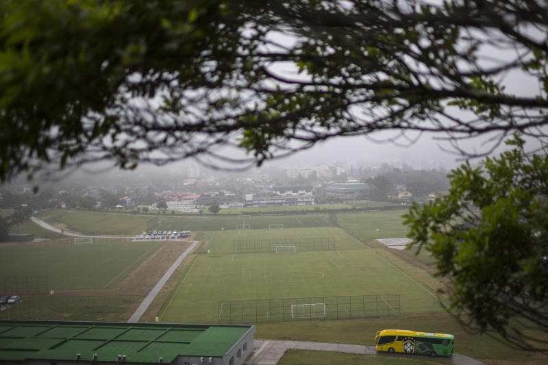 Brazil inaugurates its World Cup training center