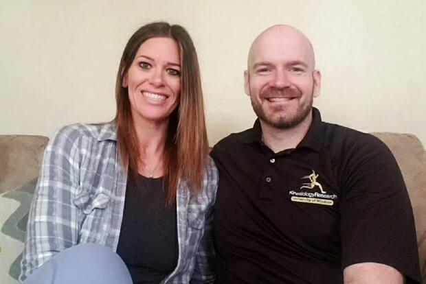 Neil Pettit and Amanda Garant have been house hunting during the pandemic, and they're amazed at how much people are willing to pay for a home where they live, in Windsor, Ont.