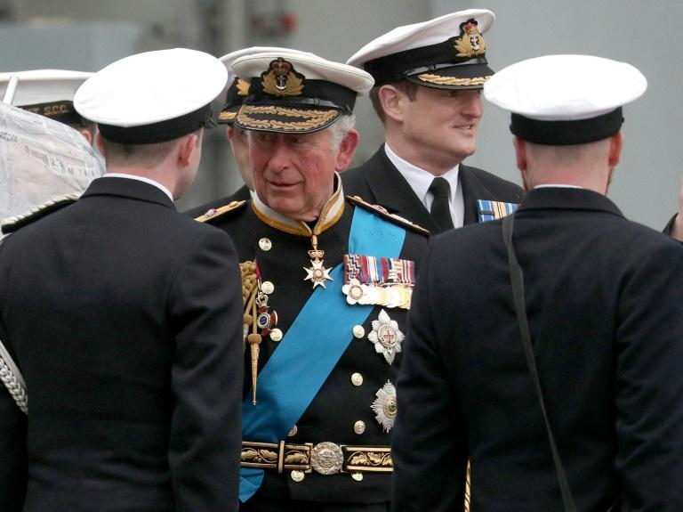 Britain's Prince Charles (C), Prince of Wales is reportedly keen on reforming the Monarchy (AFP Photo/Andrew Matthews)