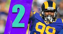 <p>Defensive players are practically ineligible to win MVP, but Aaron Donald should be considered a legitimate candidate for the award. He's still got a shot at 20 sacks from the defensive tackle position, which would be every bit as impressive as any number Drew Brees or Patrick Mahomes will post. (Aaron Donald) </p>