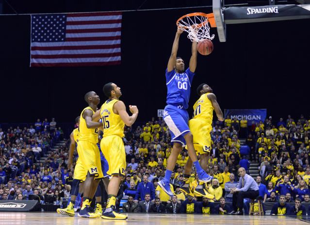 Forgotten freshman Marcus Lee's improbable contributions were key for Kentucky