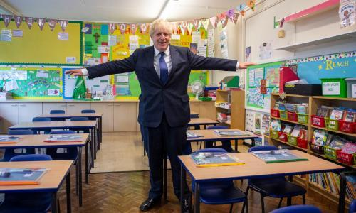 Dive for cover – Boris Johnson is invoking 'morality' in his Covid policies