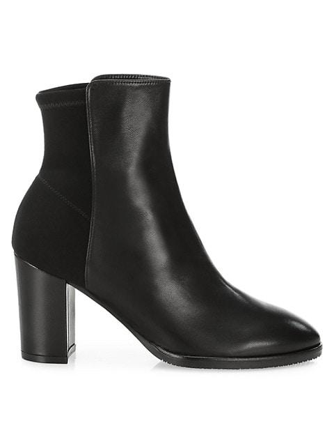 Harper Leather Sock Boots